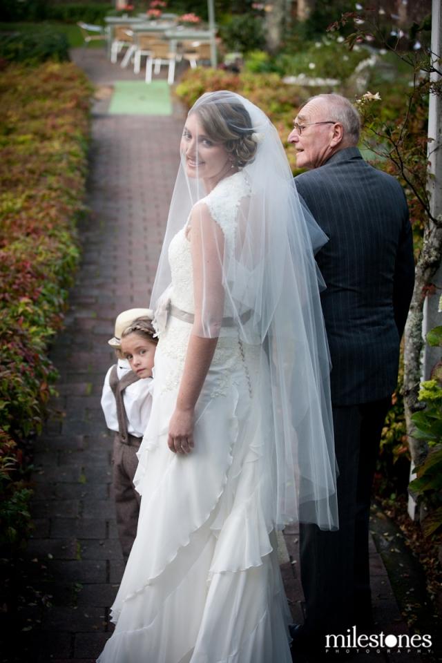 garden wedding « Milestones Photography