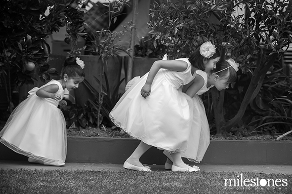Photo of The Week - flower girls