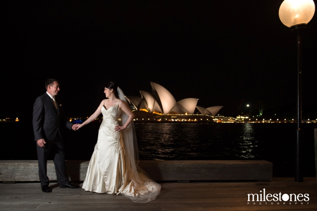 wedding night photography opera house
